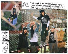 """HLZBLZ x 40s & Shorties """"Trainspotting"""" Lookbook – #WHATTHEHELLZ"""
