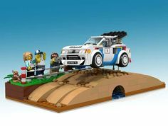 Peugeot 205 T16 by Lego