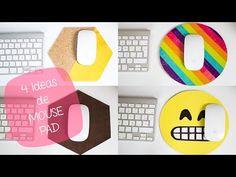 4 ideas de MOUSE PAD: decora tu escritorio   EMOJI// BigCrafts - YouTube