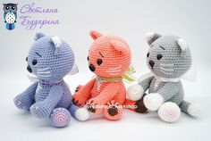 Amigurumi related to each other, we continue to share with each other. In this article amigurumi cat free crochet pattern is waiting for you. Gato Crochet, Crochet Panda, Crochet Cat Pattern, Crochet Rabbit, Crochet Amigurumi Free Patterns, Crochet Teddy, Crochet Animal Patterns, Stuffed Animal Patterns, Crochet Animals