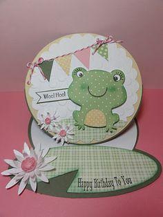 Frog Easel Card