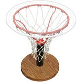 For your sons bedroom. Found it at Wayfair - Basketball Rim End Table