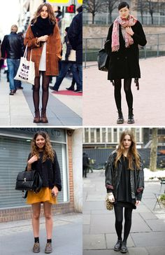 collagevintage Ideas to start wearing your Dr. Martens again!
