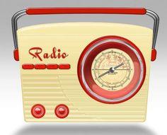 Blechdose-Gebaeckdose-Vorratsdose-Radio-Nostalgie-beige-23-cm-Schmuckdose-NEU