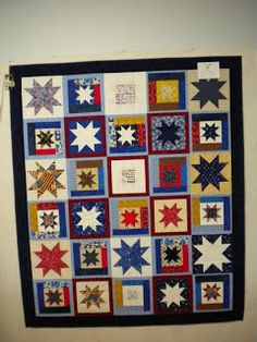 Quilts of Valor: Floating Stars in Idaho inspir quilt, float star, quilt idea, veteran quilt