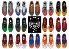 #sneakers #news  Nike Prepares For 2016 College Football With Training Shoes For 14 Schools