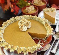 Entertaining Allergies: Pumpkin Pie