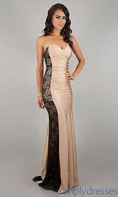 Strapless Prom Gown by Atria 2101 at SimplyDresses.com Possible #prom dress? Hmmm...