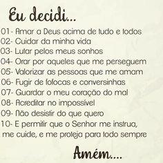 Lindo e real Jesus Freak, Jesus Loves You, God Is Good, Gods Love, Life Lessons, Texts, Love You, Bible, Wisdom