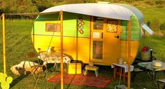 1954 Empire Vintage Canned Ham Travel Trailer Camper