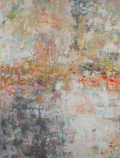 Romantic Whispers, Oil and Texture, 48 x 36 in. Original abstract painting by artist Amy Donaldson, oil painting, abstract art. #OilPaintingTexture #abstractart