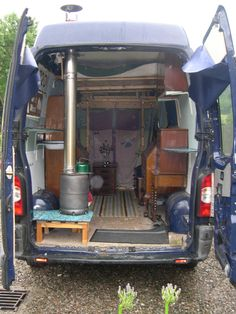"Runa - ""2006 Renault Master long wheel base extra high top van. Runa is the first vehicle we have ever owned jointly and is currently undergoing a conversion at our unskilled hands into an eco-friendly living vehicle."""