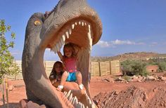 Moab Giants Dinosaur Playground...museum and so much more, Moab Utah