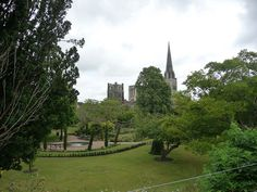 Chichester cathedral - Bishop's Palace Gardens by rmtw, via Flickr