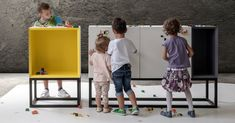 Italian design firm Studio NINE has conceived a LEGO-compatible furniture series called Stüda that's covered in studs compatible with the famed bricks. Lego Furniture, House Furniture Design, Entryway Furniture, Modular Furniture, Recycled Furniture, Furniture Outlet, Furniture Stores, Designers Italianos, Lego Storage Brick