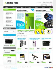 Photo & ZenCart Templates by Di Photo Store, Flash Memory, Fujifilm, Digital Camera, Hermes, Templates, Photo And Video, Shopping, Models