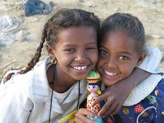 Nubian Girls from the Sahara