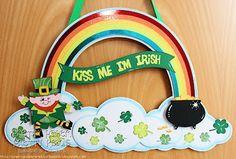St. Patrick's Day Decor: http://prettypaperprettyribbons.blogspot.com
