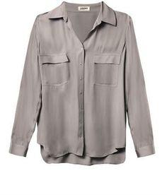 150 L'Agence Silk pocket blouse on shopstyle.co.uk