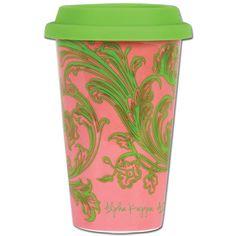 Alpha Kappa Alpha Sorority Coffee Cup $15.49