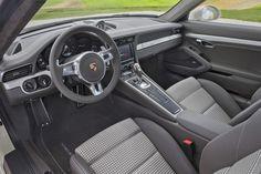 Porsche 911 50th Anniversary Edition cloth tartan interior