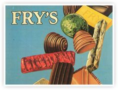 An Early Fry's ad featuring the Bristol factory.