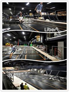 Trampoline Park Project by Trampoline Park Manufacturer Olympic Trampoline, Indoor Trampoline, Trampoline Park, Outdoor Hammock Chair, Fun Places For Kids, Sport Park, Indoor Activities, Some Pictures, My Dream