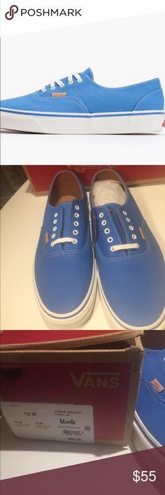Vans U Era Decon men's sneakers new authentic Vans style U Era Decon  blue . Brand new with box . Vans Shoes Sneakers