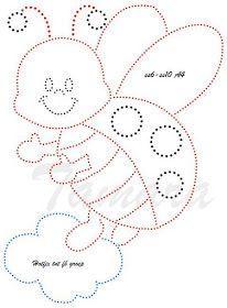 Prickelbilder Vorlagen Kinder Card Patterns, Applique Patterns, Applique Designs, Stitch Patterns, Sewing Patterns, Embroidery Cards, Hand Embroidery Designs, Embroidery Applique, Embroidery Stitches