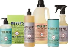 Make your own--Mrs. Meyer's All Purpose Cleaner