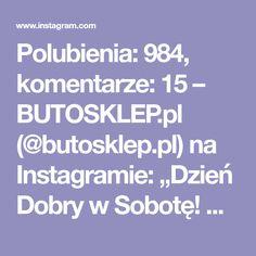 """Polubienia: 984, komentarze: 15 – BUTOSKLEP.pl (@butosklep.pl) na Instagramie: """"Dzień Dobry w Sobotę! Rozpoczynamy dzień od takich smakołyków! Kto jest chętny dołączyć się do tak…"""" Desserts, Instagram, Tailgate Desserts, Deserts, Postres, Dessert, Plated Desserts"""