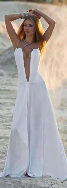 Miss m's Girls Trip. karen cox. Modern goddess:  sultry white...a sleek and sexy neck line...