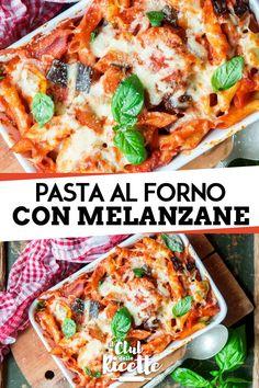 La Pasta al Forno con Melanzane è un primo piatto saporito e semplice da preparare al forno. Ecco come prepararlo con la ricetta estiva.