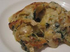 Manjar das Deusas: Bacalhau gratinado com camarão