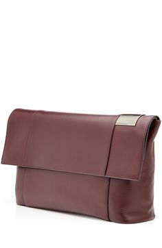 Tallulah Leather Clutch detail 2