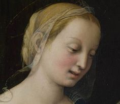 Detail from Raphael, The Madonna of the Pinks