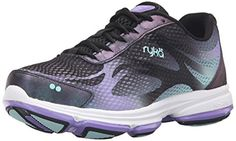 Shop a great selection of Ryka Women's Devotion Plus 2 Walking Shoe. Find new offer and Similar products for Ryka Women's Devotion Plus 2 Walking Shoe. Black Leather Shoes, Black Shoes, Women's Shoes, Cheer Shoes, Best Walking Shoes, Girls Shoes, Ladies Shoes, Shoes Women, Shoes Online