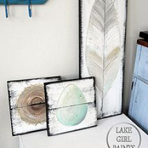 How to Make Rustic Spring Wall Art