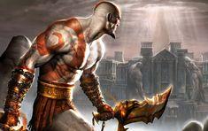 Kratos es un semidiós y uno de los protagonista de la saga God of War, sanguinario guerero que lucha contra los dioses y demás guerreros.