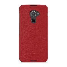 TETDED Premium Leather Case for BlackBerry DTEK60 -- Caen (LC: Red) #TETDED