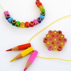 Colored Pencil Jewelry.