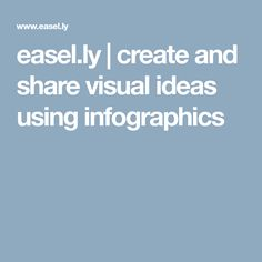 easel.ly   create and share visual ideas using infographics