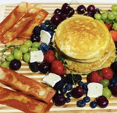 Breakfast Of Champions, Recipe Of The Day, Pancakes, Cheese, Meals, Ethnic Recipes, Food, Meal, Essen