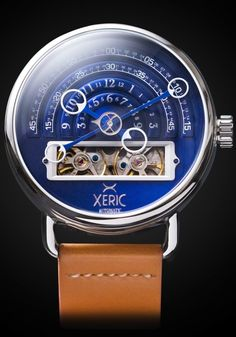 Xeric Watches - Xeric Halograph Automatic Navy Limited Edition, $499.00 (http://www.xeric.com/halograph-automatic-navy-limited-edition/)