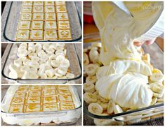 Best Ever Banana Pudding Fresh bananas, pudding and shortbread cookies come together in a few minutes to form this delicious no bake dessert guaranteed to please a crowd! Chessman Banana Pudding, Best Banana Pudding, Banana Pudding Cheesecake, Banana Pudding Recipes, Banana Dessert, Pudding Desserts, Easy Desserts, Delicious Desserts, Yummy Food