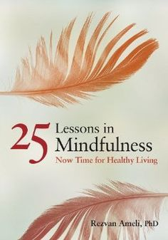 25 Lessons in Mindfulness: Now Time for Healthy Living: Rezvan Ameli, PhD: 9781433813238: Amazon.com: Books
