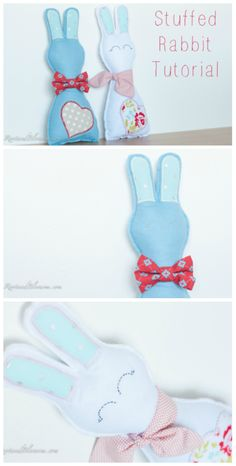 Adorable Stuffed Rabbit Tutorial that would be the perfect Easter gift for a little boy or girl Easter Gift, Little Boys, Activities For Kids, Boy Or Girl, Baby Kids, Rabbit, Plush, Diy Projects, Gifts