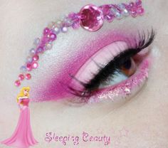Disney Princess make up - the link has a different look for each princess