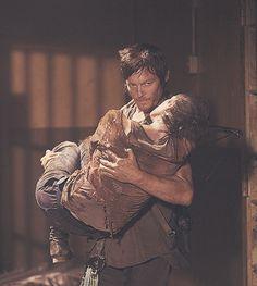 Daryl found Carol after thinking she was dead