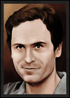 Ted Bundy is Card Number 46 from the New Serial Killer Trading Cards by SerialKillerBiz on Etsy